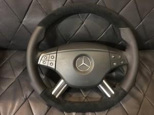 BMW alcantara steering wheel